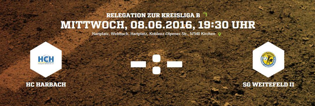 Letzes Relegationsspiel gegen Weitefeld II