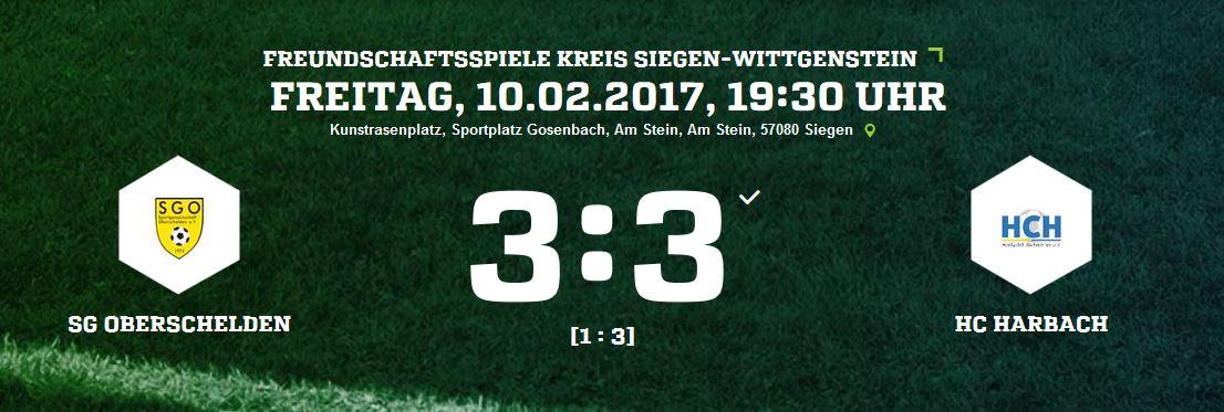 SG Oberschelden 3:3 HC Harbach