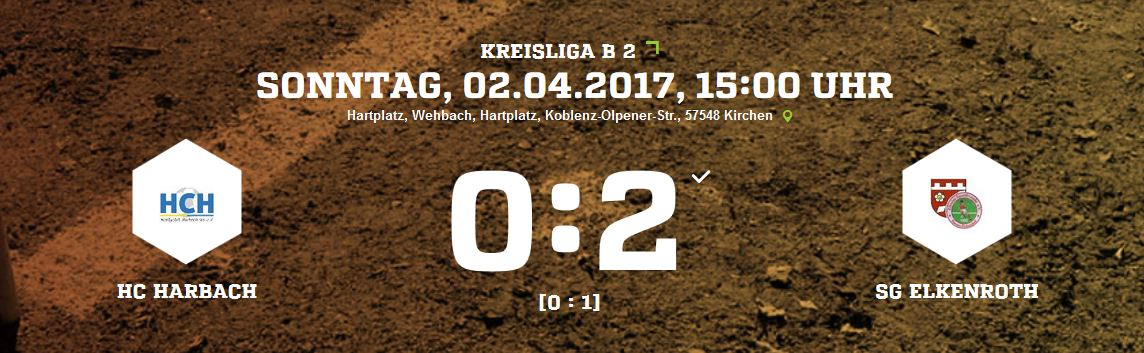 Hobbyclub Harbach 0-2 SG Elkenroth / Kausen