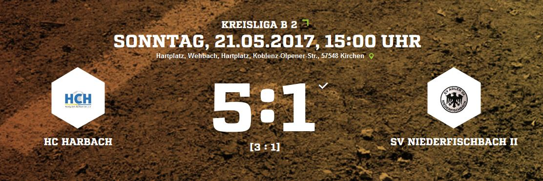 Hobbyclub Harbach 5-1 Adler SV Adler 09 Niederfischbach II